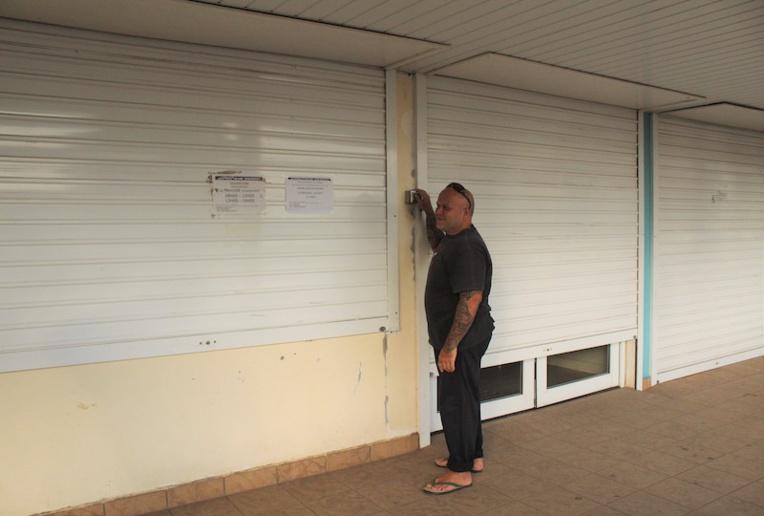Rudolf Klima, directeur de l'agence Air Tahiti, a définitivement baissé le rideau mercredi.