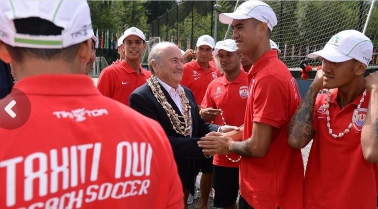 """Beach soccer: les """"guerriers"""" Tahitien au """"Home of FIFA"""" de Genève"""