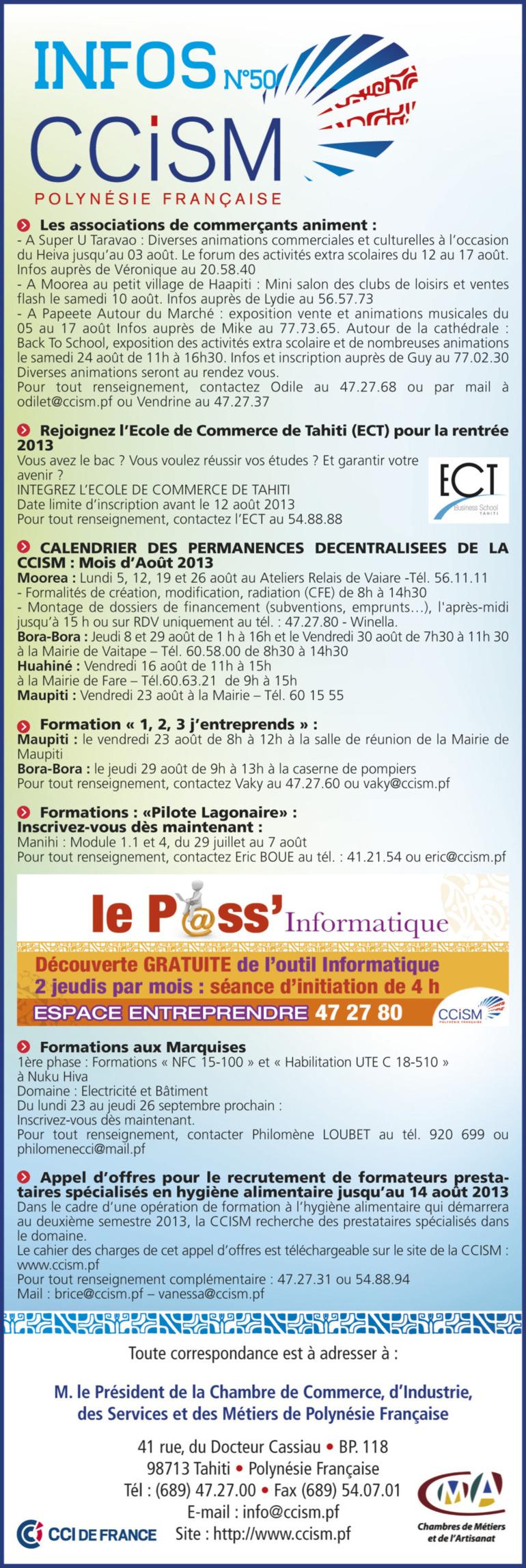 Infos CCISM N°50