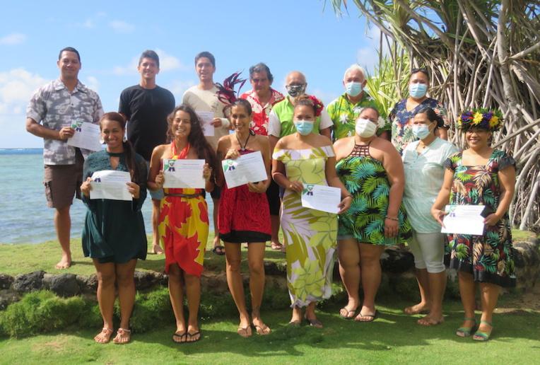 Des jeunes de Moorea ont participé à une formation culturelle afin de se reconnecter aux bases de leur culture à travers le reo tahiti et les légendes.