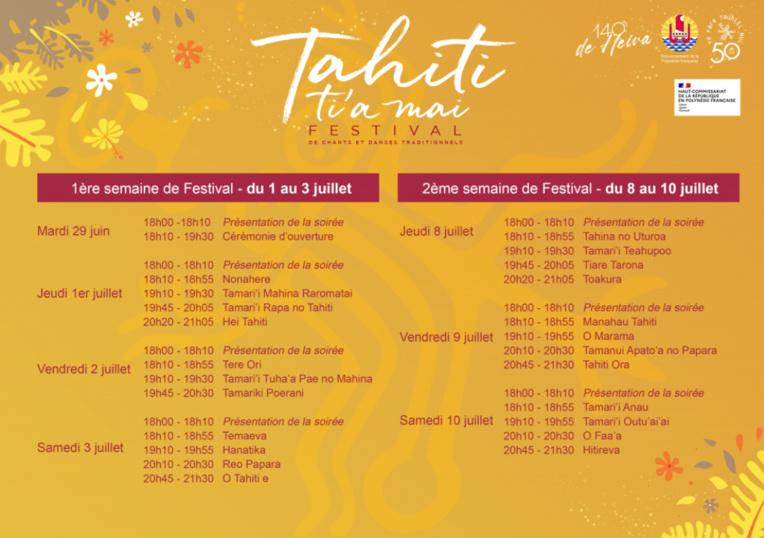 Tahiti Ti'a Mai : Festivités retrouvées