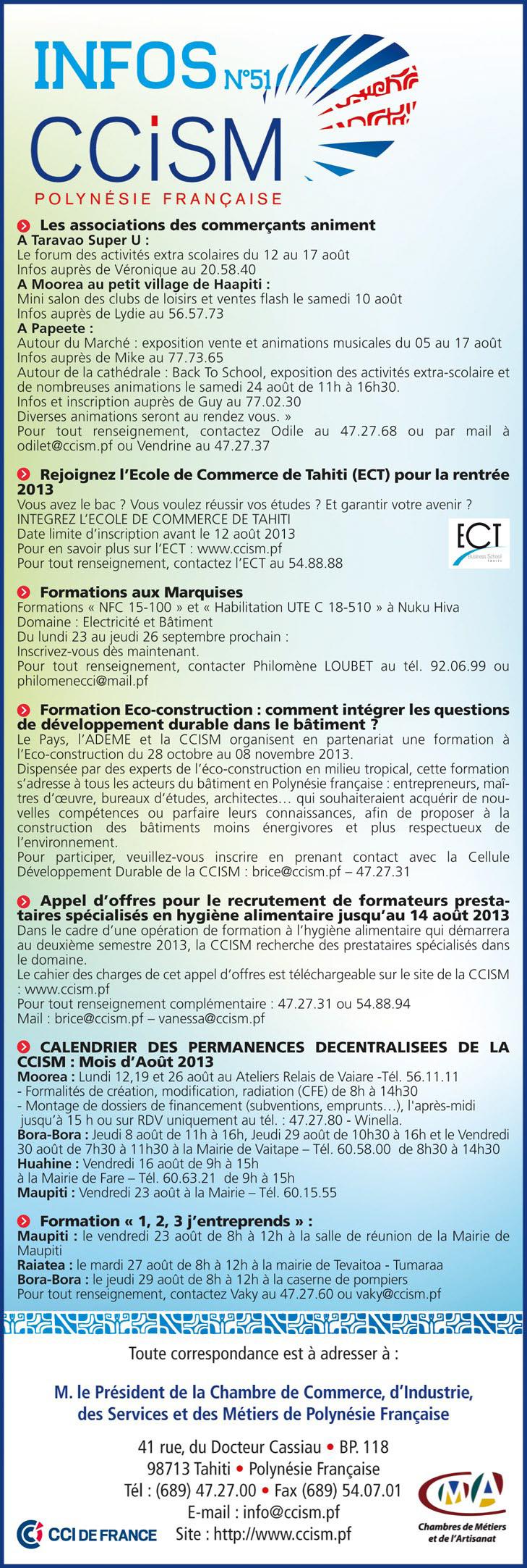 Infos CCISM N°51