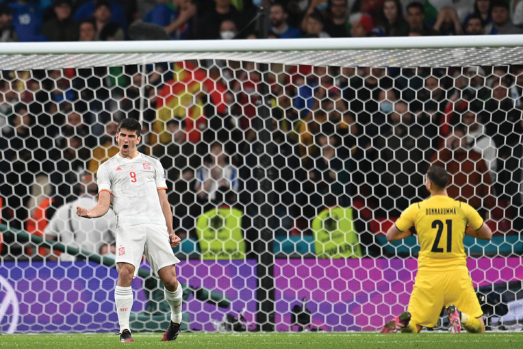 L'Italie en finale en battant l'Espagne aux tirs au but