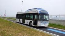 """La Corée du Sud teste """"une route électrique"""" pour ses bus publics"""
