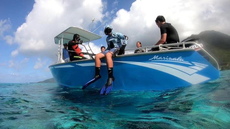 Un stage à Temae pour pêcher en toute sécurité