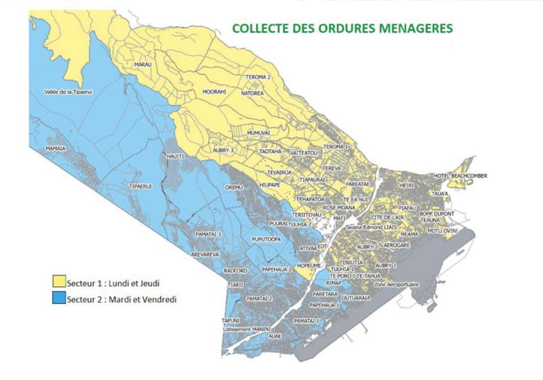 La collecte des déchets réorganisée à Faa'a
