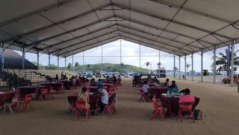 Succès des administrations en visite à Bora Bora