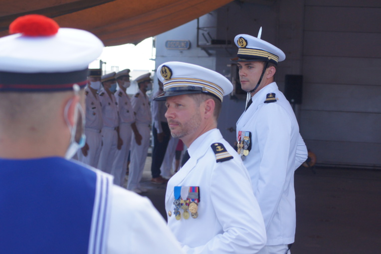 Le capitaine de Frégate Doulcet avait déjà été affecté à Tahiti, en 2002
