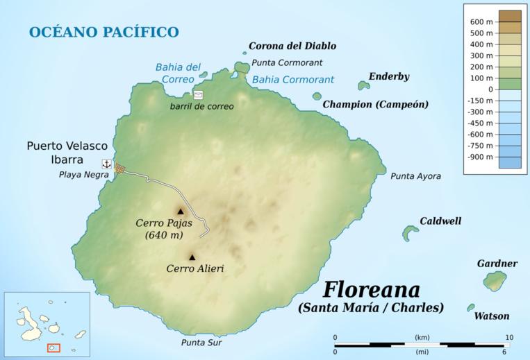 1807-1809 : Patrick Watkins, un Robinson sans pitié aux Galápagos
