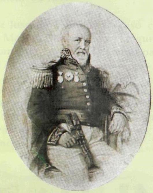 José de Villamil fut le premier gouverneur de l'archipel des Galápagos.