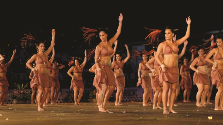 la troupe Tahiti Ora se produira sur la scène de l'Intercontinental le 31 juillet. Crédit : G. Boissy.