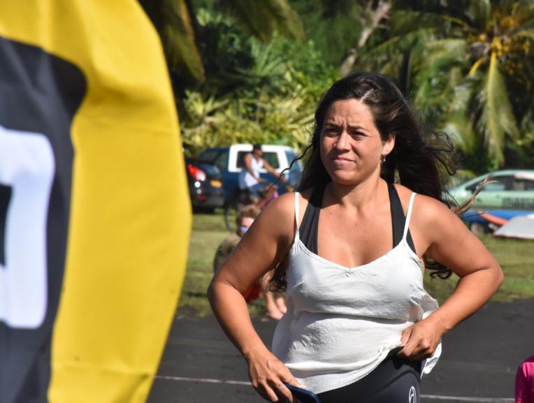 Après avoir cofondé la Tahiti Kite School, Vairea Céran-Jérusalémy a co-organisé la Tahiti Bif Air Contest.