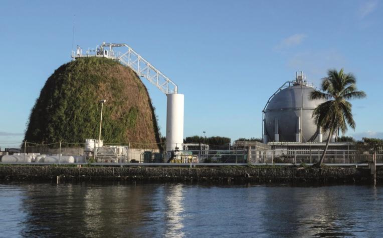 La future sphère de gaz géante inquiète
