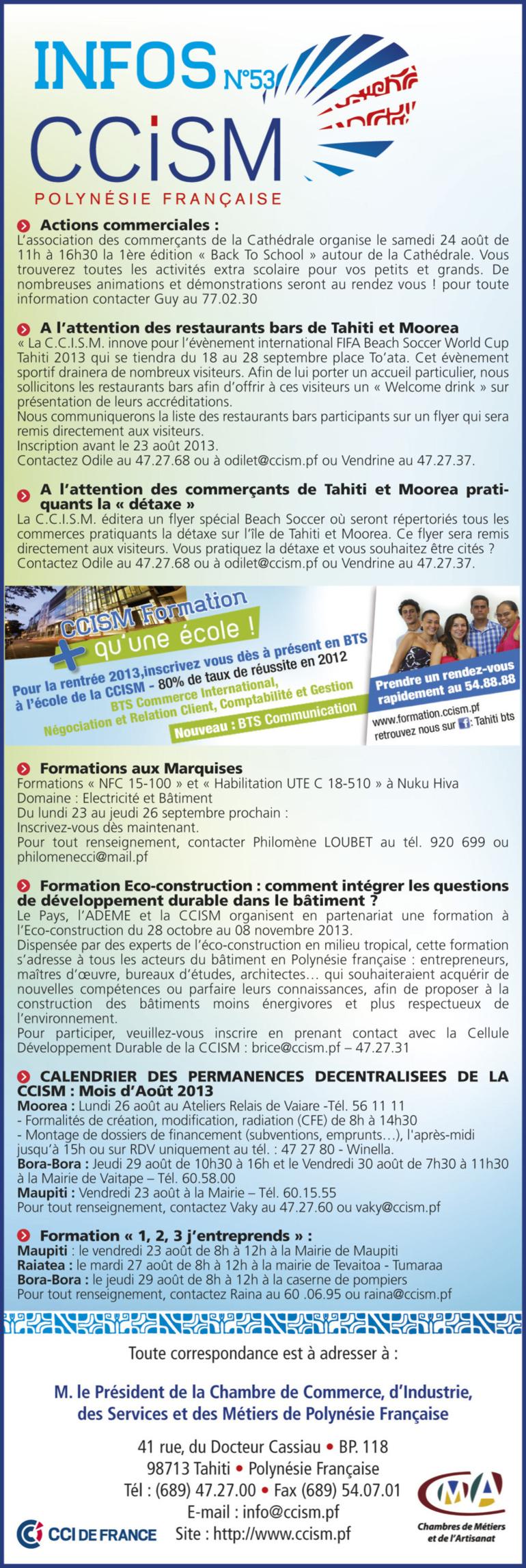 Infos CCISM N°53