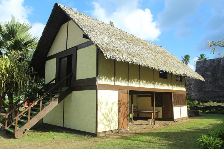 """La reconstitution de la """"Maison du Jouir"""" où Gauguin peignit parmi ses plus grands chefs-d'œuvre."""