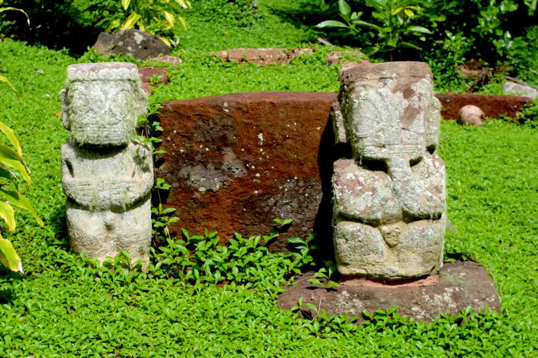 Les tiki, trésors de Hiva Oa