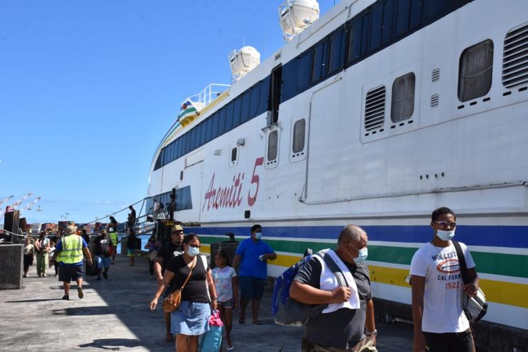 Les passagers ont été ramenés à Papeete