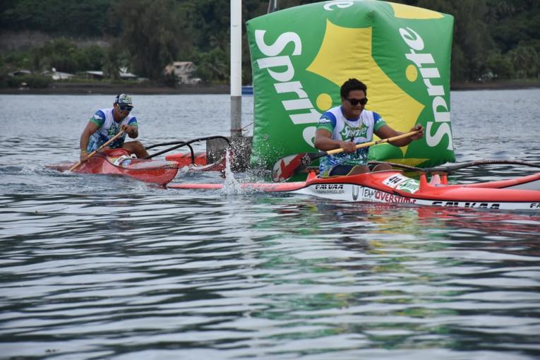Kevin Céran-Jérusalémy et Steeve Teihotaata se sont livrés une belle bataille.