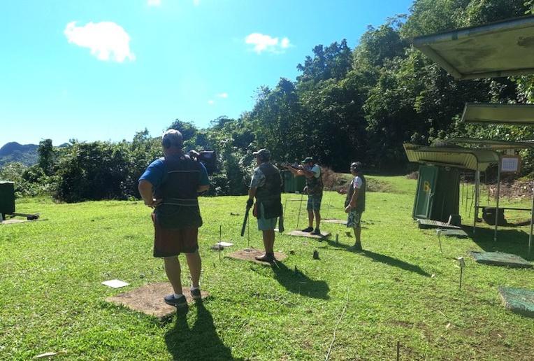 Les tireurs du club CTTA s'entraînent en vue de la compétition qui se tiendra en septembre.
