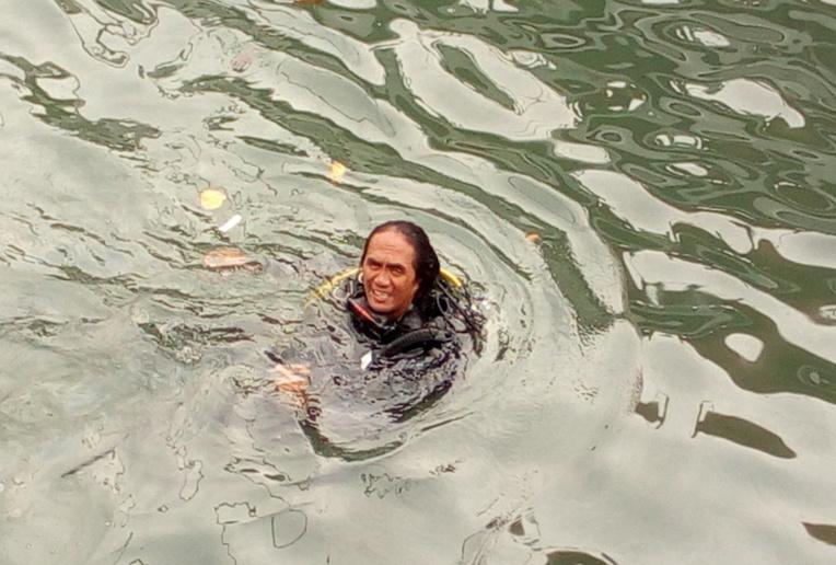Le plongeur qui a participé aux opérations de repêchage.