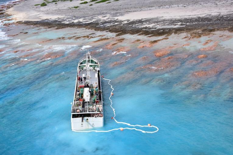 Mise en demeure de l'armateur du palangrier chinois échoué à Anuanurunga