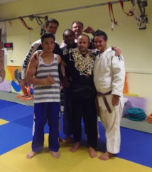 Judo- Départ de guillaume Louart.
