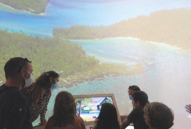 L'espace Insol'île propose des jeux d'énigmes sur le thème de la nature polynésienne.