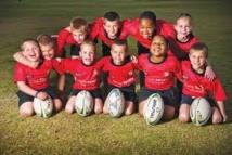 Afrique du Sud: cinq paires de jumeaux dans une équipe de rugby junior