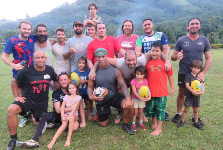 Le club Jeunesse Rugby de Moorea ne cache pas ses ambitions pour la saison qui va débuter. De plus, il vient de créer la première école de rugby de l'île.
