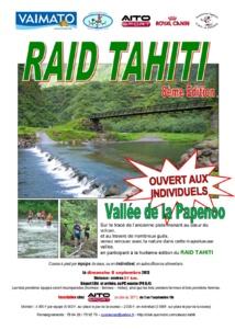 Raid Tahiti 8ème édition