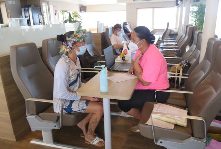 Premiers vaccinodromes sur l'eau entre Tahiti et Moorea