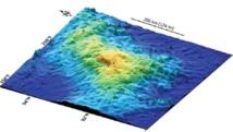 LeTamu est un volcan de 450 km sur 650 km (Image de Texas A&M University ).