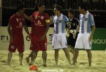 Beach Soccer: Les tiki Toa battent l'Argentine 6 à 4