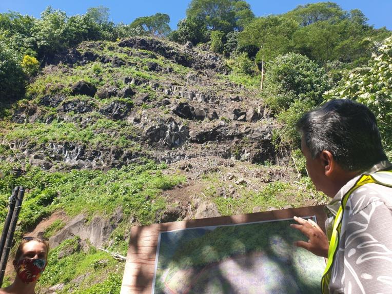 Des vestiges découverts à Tahuareva