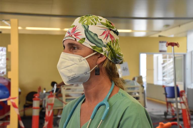 """Pour le docteur Mélanie Tranchet, la situation de crise est """"sans précédent""""."""