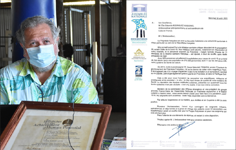Crise Covid : Le député Botherson demande l'aide des Cubains