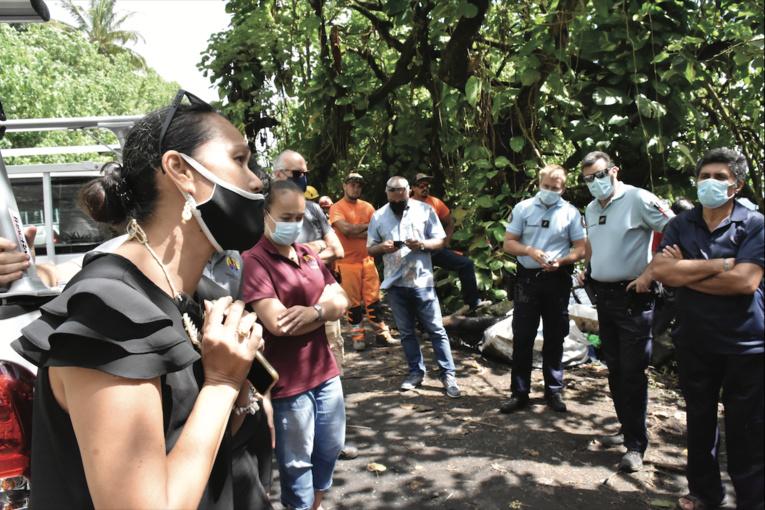 Vendredi au pied de Tahuareva, Laiza Pautehea a demandé un délai de deux semaines pour analyser davantage les éléments découverts.
