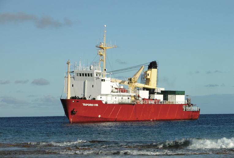 Après Rikitea, le Taporo VIII a fait escale à Tureia. Il est à présent en route pour Tahiti où il est attendu vendredi soir ou samedi matin.