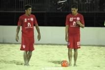 Beach soccer : Victoire de Tahiti  9 à 2 face à l'Australie