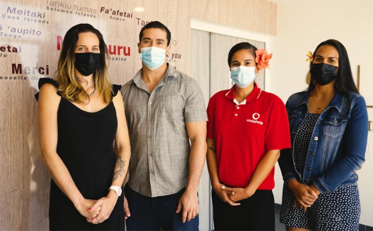 Vodafone solidaire avec les soignants