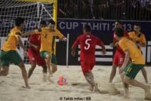 Tiki Toa vs Australie: petite blessure , festival de buts et diaporama