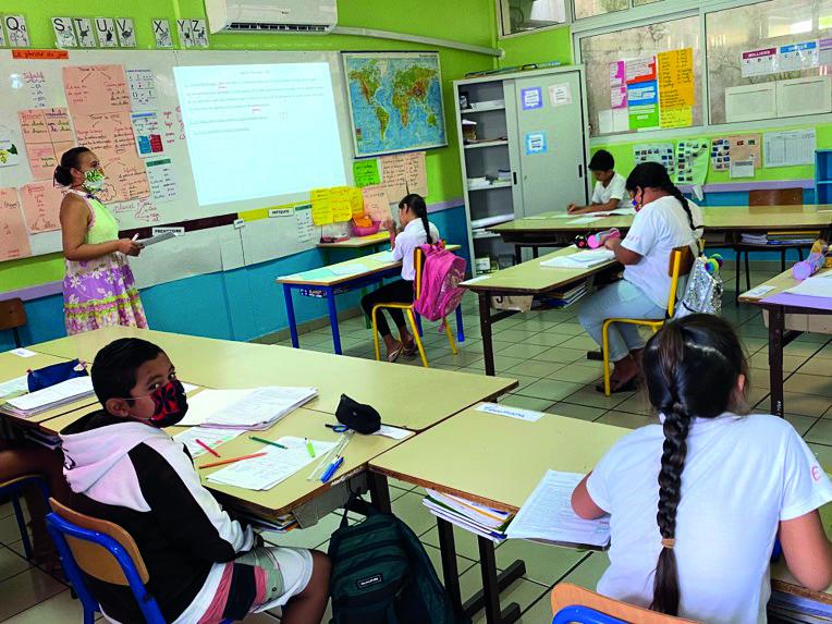 Quatre écoles ouvertes pour les enfants de soignants