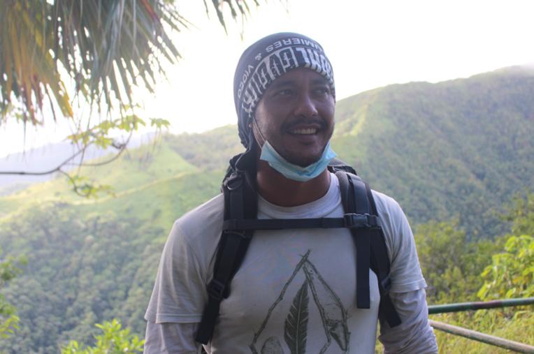 Djangho Chauvet, 30 ans, originaire de Bora Bora