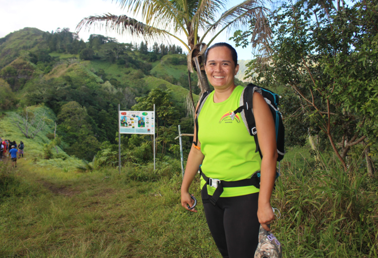 Maria AKA, 36 ans, originaire de Nuku Hiva