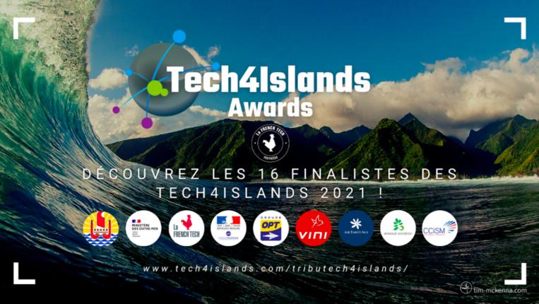 Les finalistes des Tech4Islands Awards