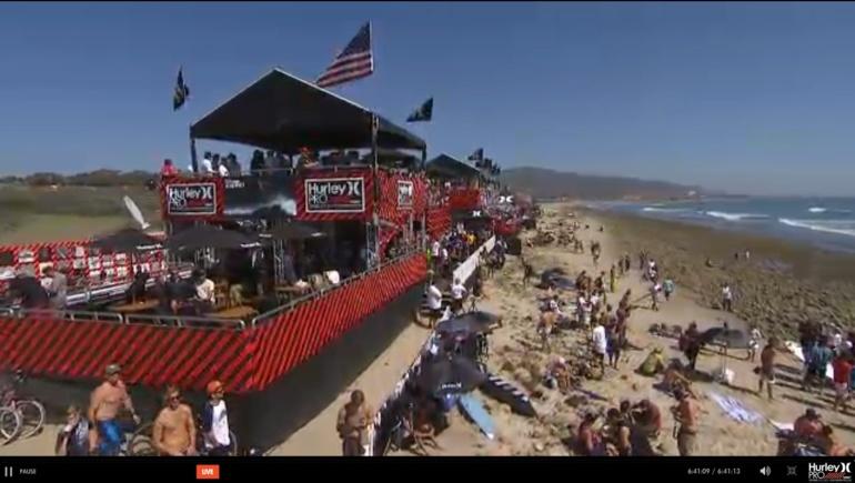 Hurley Pro en Californie : Michel Bourez jusqu'en demi-finale !