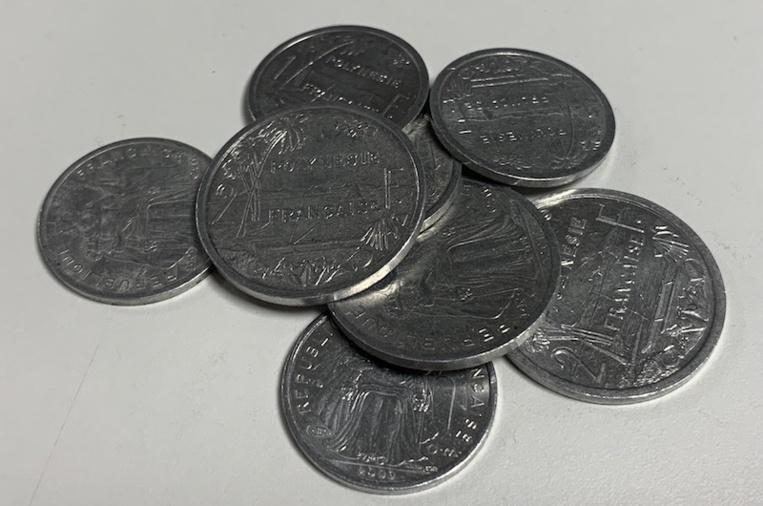 Les commerçants toujours tenus d'accepter les pièces de 1 et 2 Fcfp