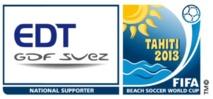 Coupe du Monde de Beach Soccer de la FIFA, Tahiti 2013 : du sable à l'océan