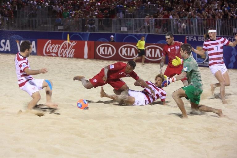 Victoire des Tikitoa face aux USA avec 5 buts à 3: les tahitiens qualifiés pour les 1/4 de finales