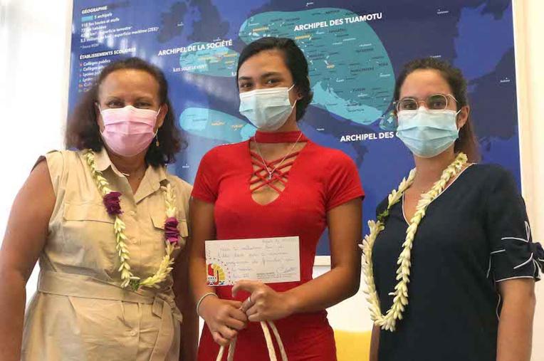 Une jeune Polynésienne au prestigieux Prytanée national militaire de La Fleche